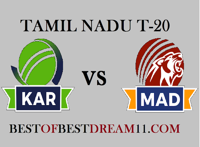 KAR VS MAD DREAM11