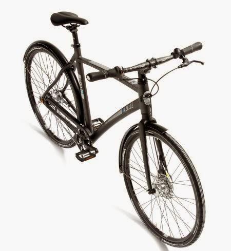 Gazelle cityzen hippe minimalistische stadsfiets for Minimalistische fiets