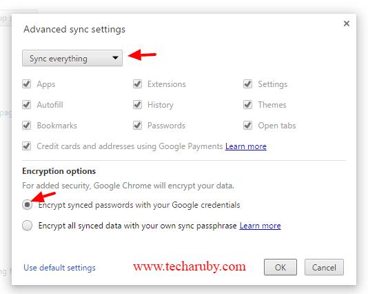Google password manage
