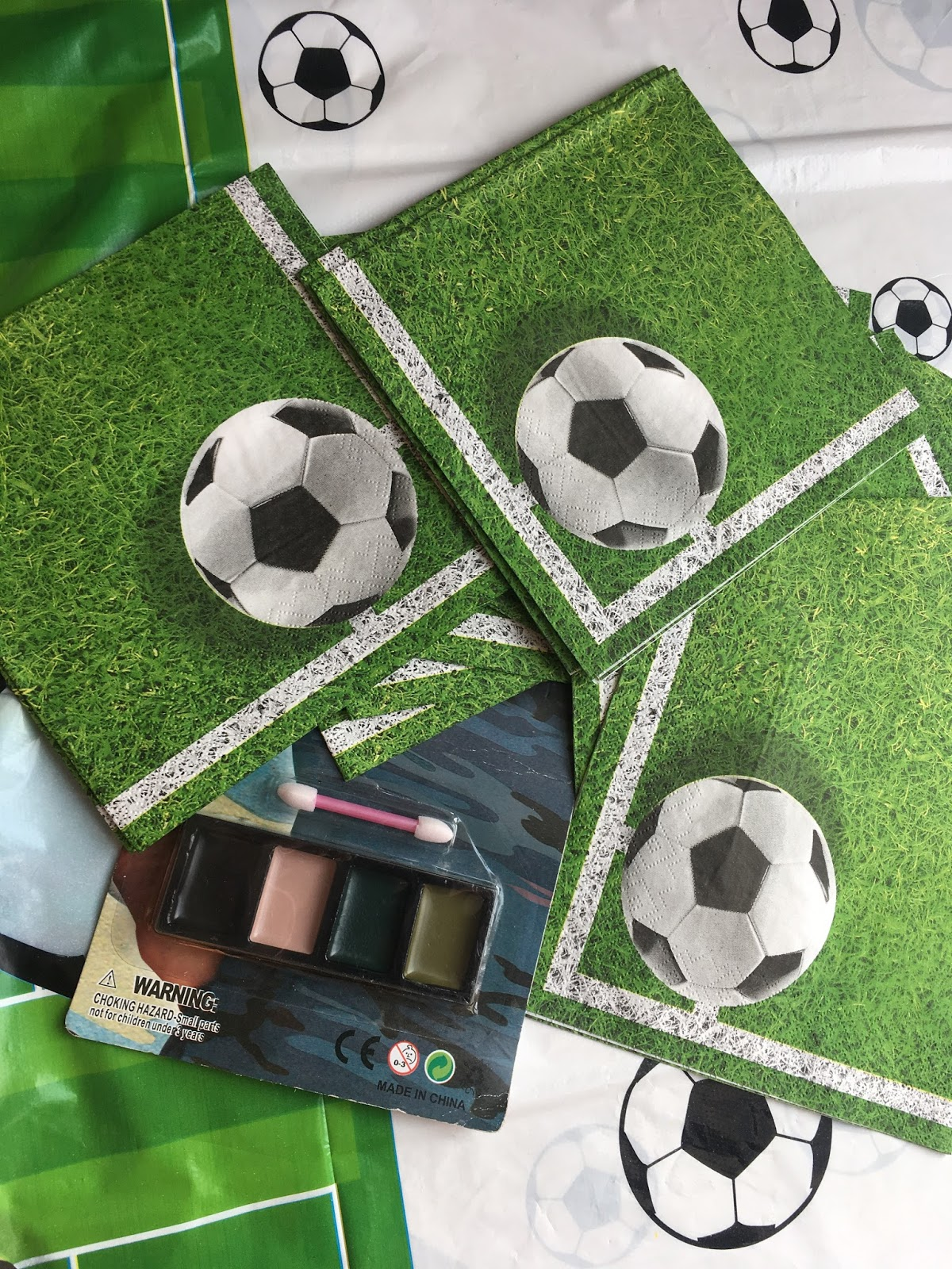 serwetki piłkarskie congee