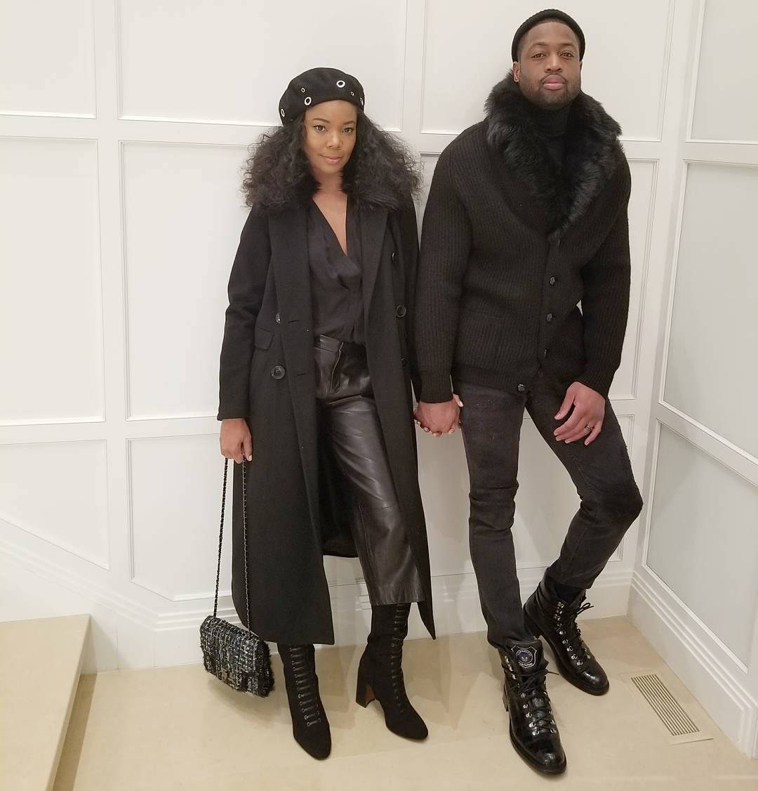 Gabrielle Union and Dwayne Wade serving couple goals in
