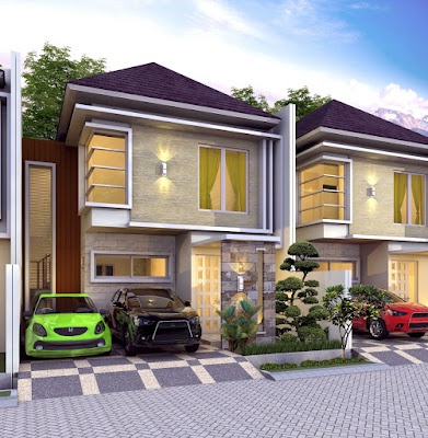 Rumah 2 lantai strategis di Cibinong