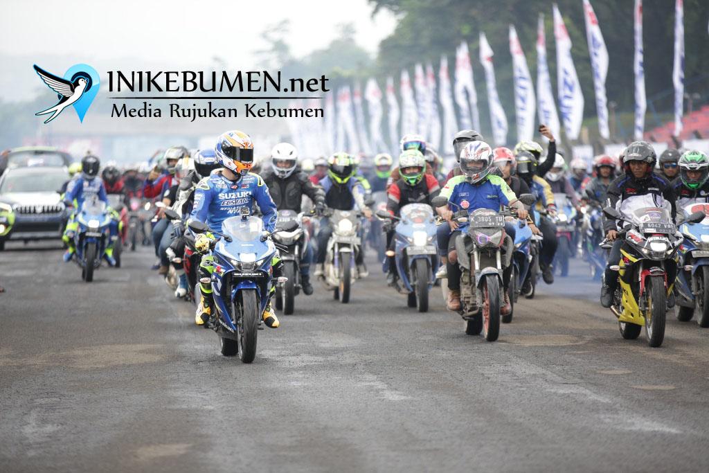 Andrea Iannone, Meriahkan Jambore Nasional 2018 Pesta Bikers Suzuki Indonesia