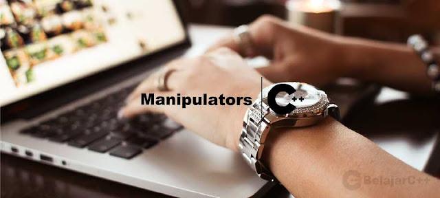 Macam-macam dan Contoh Manipulator C++ - belajar C++