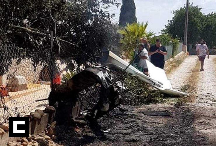 Cinco muertos tras choque entre avioneta y helicóptero en España