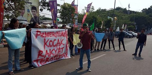 Ekonomi Terpuruk, HMI Tagih Janji Jokowi