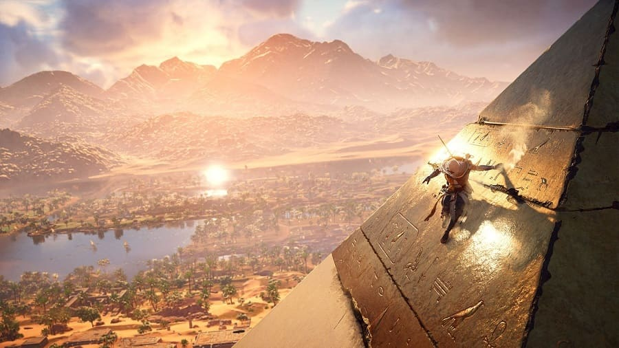 Jogo Assassins Creed Origins crackeado PC para download torrent com crack