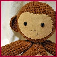 Mono chiquitín amigurumi