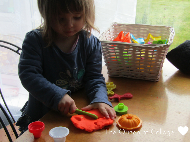 It's Play Dough Time {The Ordinary Moments}