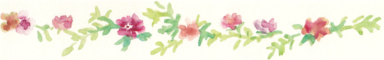 Free Watercolor Floral Clip Art