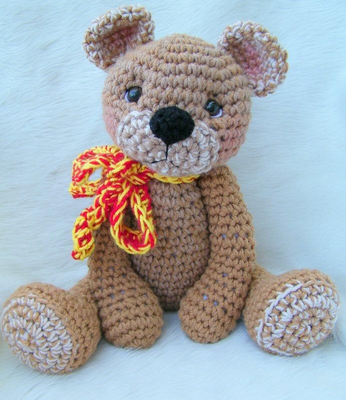 Teris Blog Teddy Bear For Hugs Crochet Pattern Now Available As