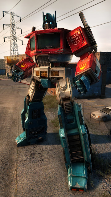 Transformers Prime Games Vs Optimus Megatron