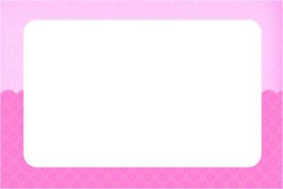 Para hacer invitaciones, tarjetas, marcos de fotos o etiquetas, para imprimir gratis de Corazones Rosa.