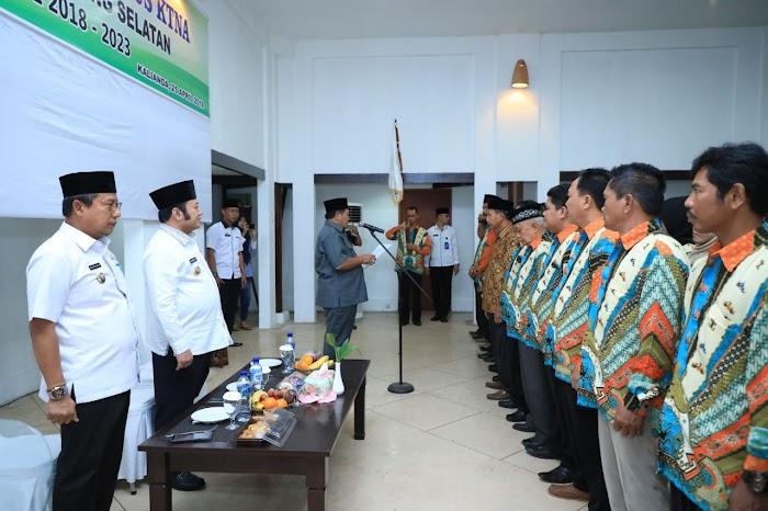 Bupati Hadiri Pelantikan Kelompok Tani Nelayan Andalan (KTNA)  Periode 2018-2023 di Grand Elty Krakatau Resort Lamsel