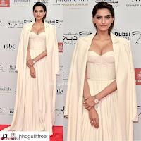 Sonam Kapoor Looks ravishing in a Deep neck Cream Gown ~ CelebsNet  Exclusive Picture Gallery 002.jpg