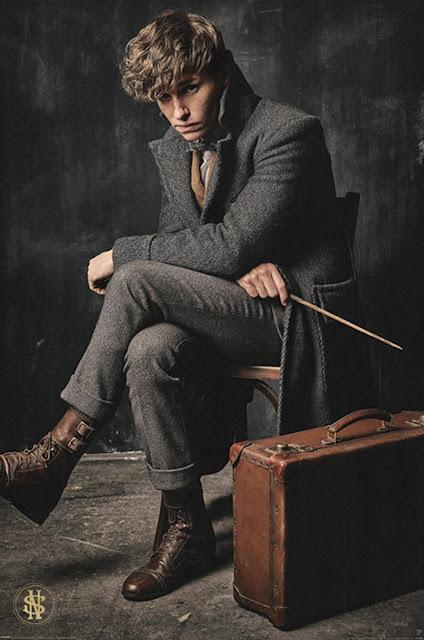 Newt Scamander estampa pôster licenciado de 'Os Crimes de Grindelwald' | Ordem da Fênix Brasileira