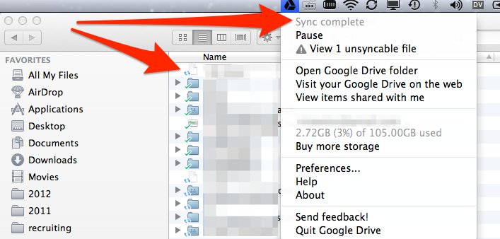 google drive was syncing desktop how to undo