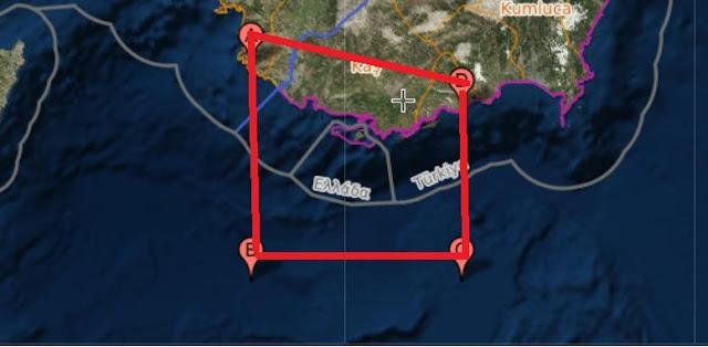 «Σκεπάζουν» το Καστελλόριζο με νέα Navtex οι Τούρκοι