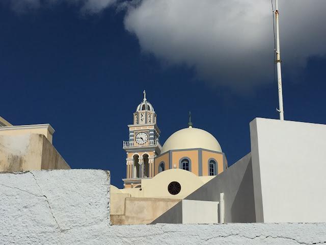 A main church of Fira