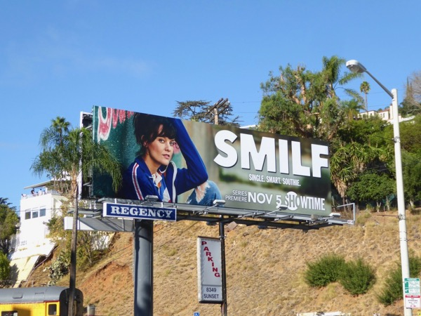 SMILF TV series billboard
