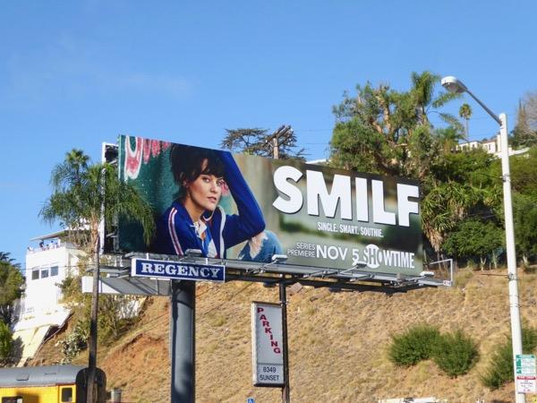 SMILF TV series billboard