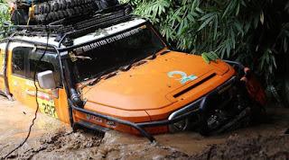 Wahhhh....seru abis nih event offroad masuk hutan MEX 2017 Ekpedisi Gunung Meratus ....sadis medan alamnya ..sadis2 juga trek-nyaa.......
