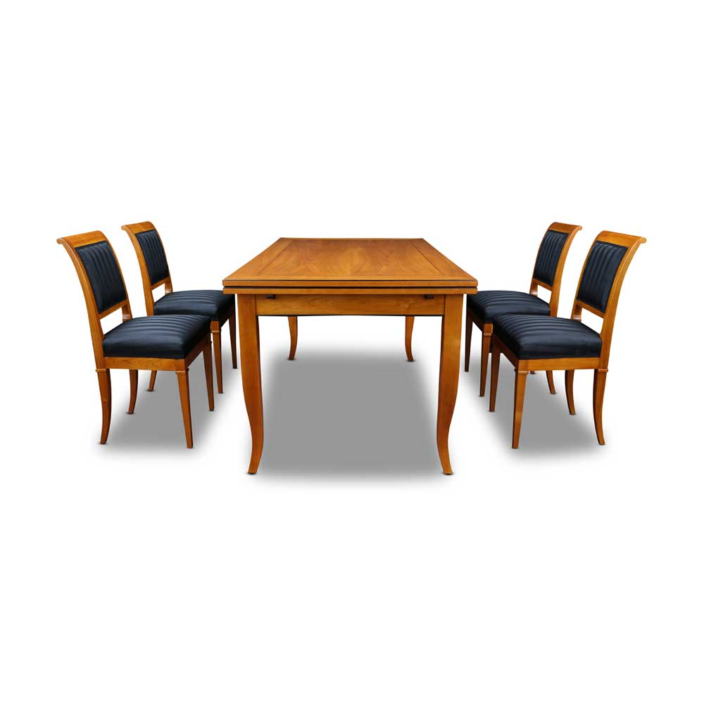 biedermeier m bel esstisch kirschbaum. Black Bedroom Furniture Sets. Home Design Ideas