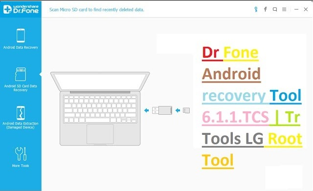 Dr Fone Android Recovery Tool 6.1.1. With Crack Free Download