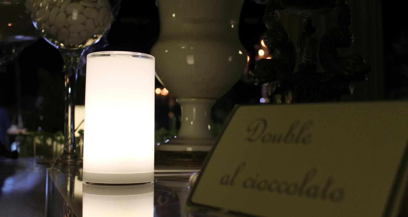 Midlightsun Lampes De Table Led Sans Fil Rechargeables