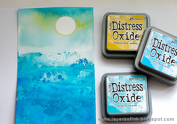 Layers of ink - Distress Oxide Layers Tutorial by Anna-Karin