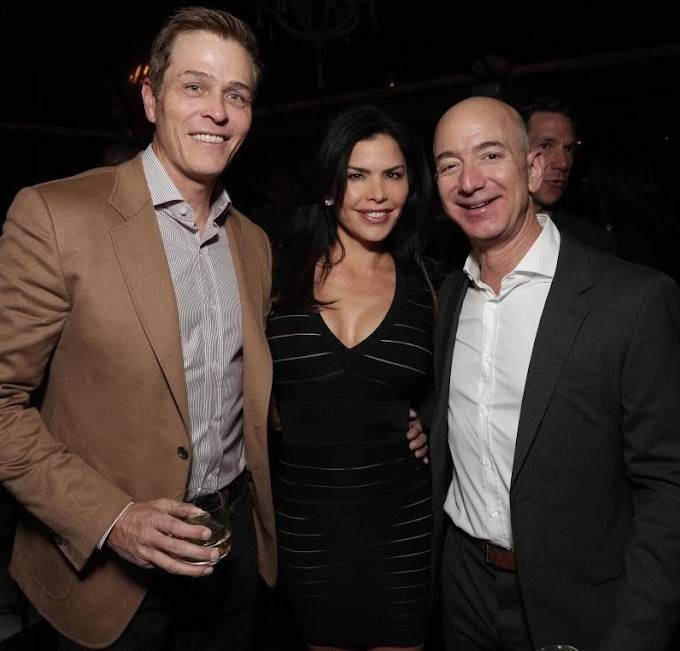 Jeff Bezos' affair with TV host Lauren Sanchez led to his divorce from wife of 25 years