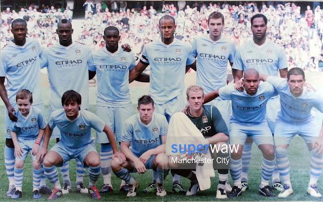 Manchester City TEAM SQUAD 2011