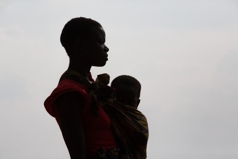Mãe e criança