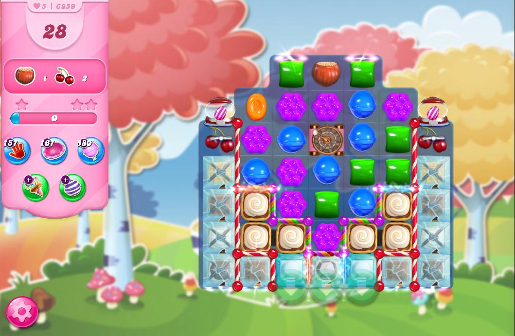 Candy Crush Saga level 6259