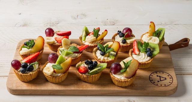 Ταρτάκια με φρούτα