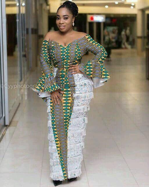 Unique long dress ankara styles 2018