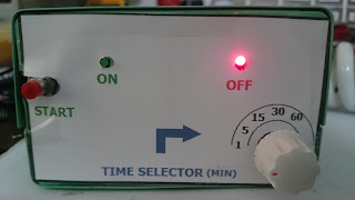 220v AC timer using IC 555