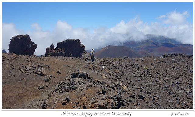 Haleakala: Edging the Cinder Cones Valley