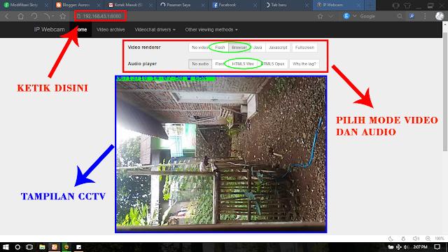 Cara Mudah Membuat CCTV Menggunakan HP Android