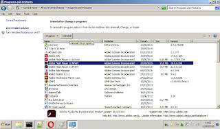 Cara UnInstall Aplikasi / Programs Lewat Control Panel