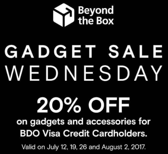 Beyond the Box Gadget Sale Wednesday; 20% Off on Gadgets and Accessories