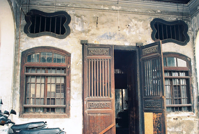 Chinese shophouse in Penang, Malaysia
