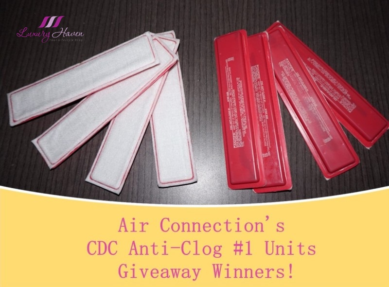 air connection giveaway aircon cdc anti clog units