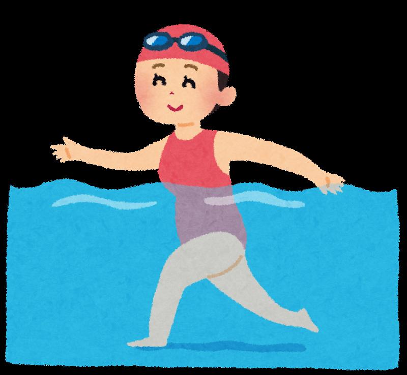 図:水中訓練