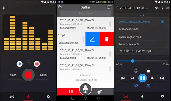 8 Aplikasi Perekam Audio Terbaik untuk Android!