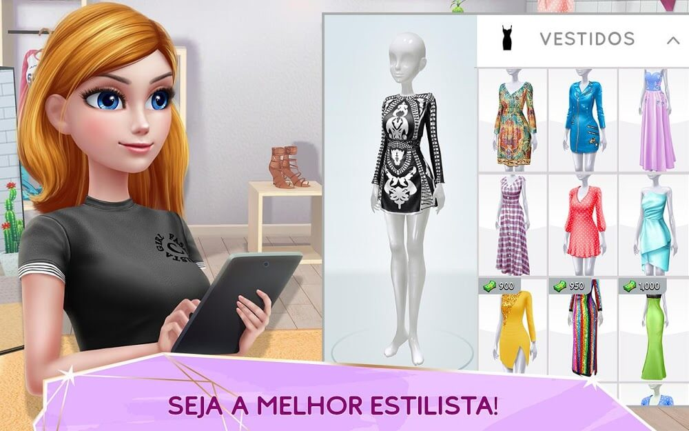 Super Estilista - Guru de Moda e Estilo MOD Dinheiro Infinito 2021 v 1.9.09