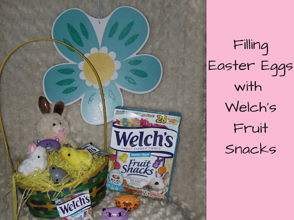 Fill Up The Easter Eggs With Welch's Fruit Snacks