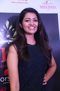 Model Shreya Kamavarapu in Short Black Dress at FBB Miss India 2017 finalists 048.JPG