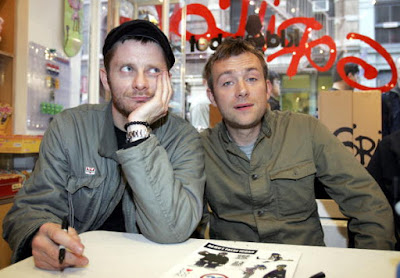 new gorillaz 2016, gorillaz klaxons, gorillaz collaboration klaxons, gorillaz jeff wootton, new music damon albarn 2016