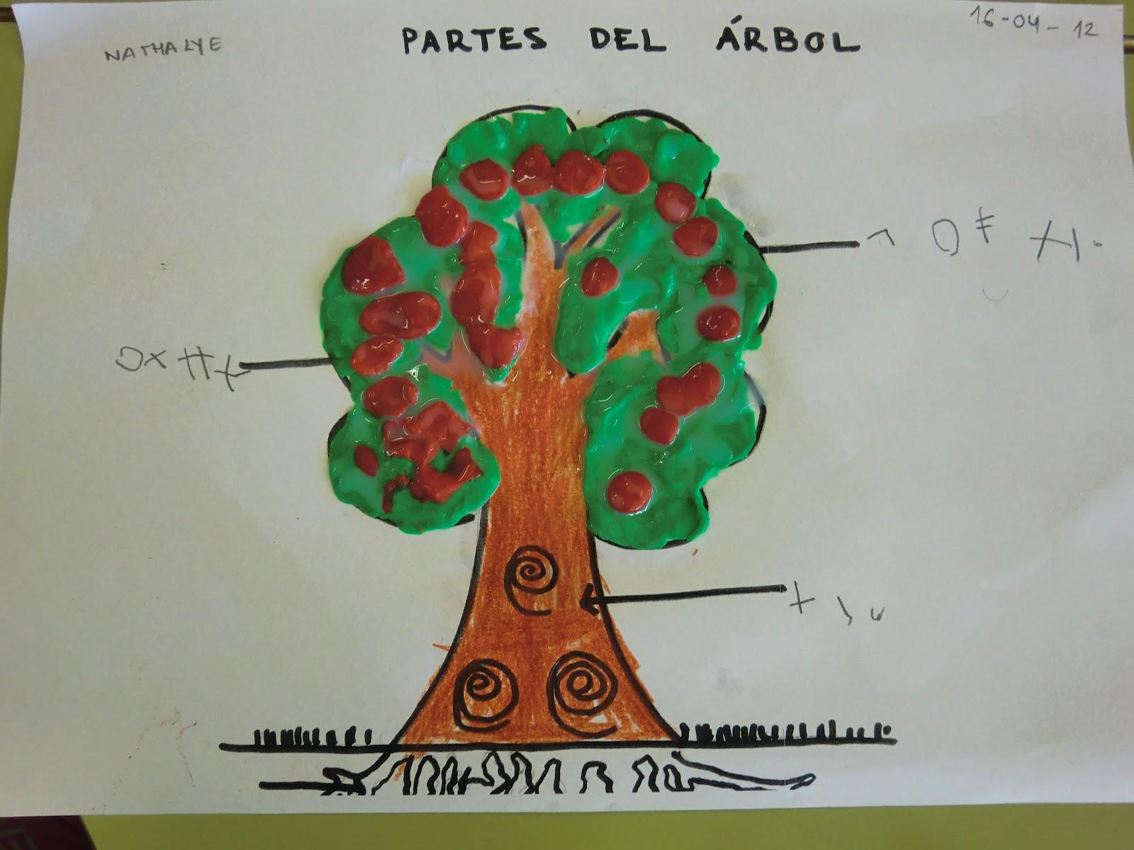 Os peques de valeixe abril 2012 for Cuales son las partes de un arbol